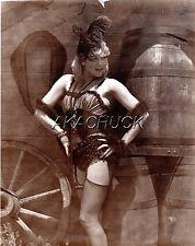 Saloon Models Sexy Corset  SEPIA HENDRICKSON PHOTO Original Artist Studio D394