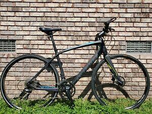 Specialized Sirrus Full Carbon Road Bike-Disc Brakes-Medium Frame 18 Speed NICE!