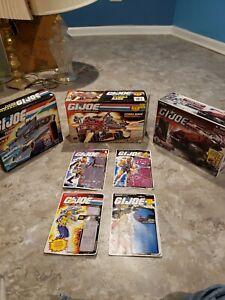 GI JOE SHARC, Cobra Rage and Cobra Crimson Hiss Tank EMPTY BOXES ONLY - Vintage