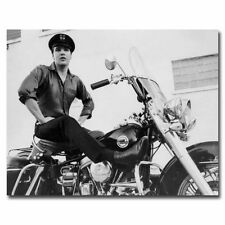 Elvis Presley 24x30inch Black And White Star Silk Poster Large Size Hot