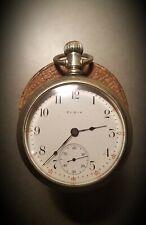 Antique ELGIN Grade 294 - 18 Size Pocket Watch 7 Jewels  *Needs servicing