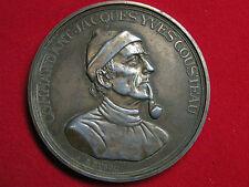 Médaille du commandant Cousteau par R.Duboc.