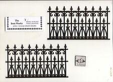 Victorian Railing dollhouse Miniature 1/12 scale NWC100  2pc plastic fence