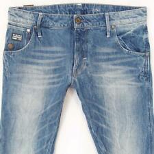 Mens G-Star ARC 3D SLIM Straight Blue Jeans W34 L34