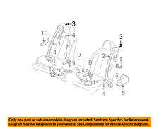 Cadillac GM OEM 00-05 DeVille Front Seat Belt-Belt & Retractor Bolt 12493071