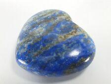 Polished Lapis Lazul Heart (EA5021) carved gem stone Heart Chakra Third Eye