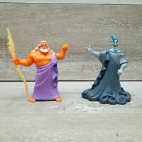 VTG 1997 Disney Hercules HADES and ZEUS Mattel Toy Action Figure  Rare HTF Lot 2