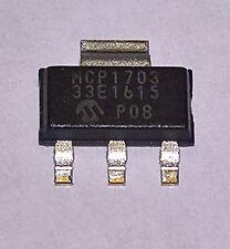 5 x MCP1703-3302E/DB LDO Festspannungsregler 3,3 Volt 250 mA SOT-223