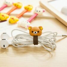 4PCs Phone Cable Cord Organizer Wrap Wire Winder Earphone, Data Cable Holder