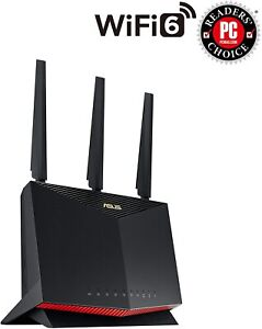 ASUS AX5700 Dual Band WiFi 6 Gaming Router - Black (RTAX86U)