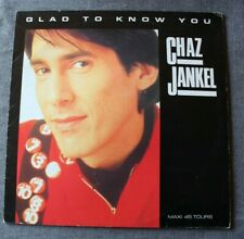 Chaz Jankel, glad to know you, Maxi Vinyl