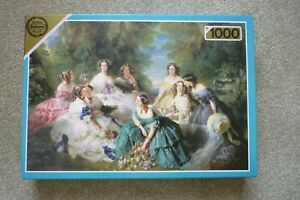 Falcon De-Luxe Jigsaw Puzzle No 3105,1000 pieces 'The Empress Eugenie.........'