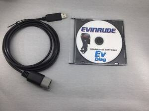 Evinrude diagnostic USB Cable for E-TEC FREE SHIPPING