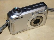 Sony Cyber-shot DSC-S650 7.2MP - Digital Fotocamera - Argentato