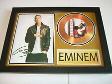 eminem  SIGNED GOLD CD  DISC 95