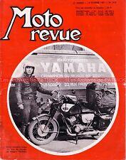 MOTO REVUE 1826 SUZUKI A100 T200 Shigeru Yoshida YAMAHA 250 YDS SONAUTO 1967