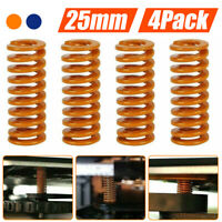 4Pack Extruder Power Spring 3D Printer Accessories Mold Spring Flat Bed Spring