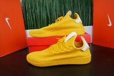 d30fd7db7c656 adidas Mens Pharrell Williams Tennis HU Yellow Monochrome CP9767 Size 11.5