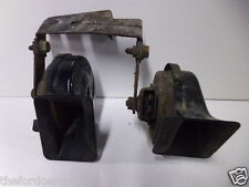 GENUINE FORD GALAXY TWIN DUAL NOTE ELECTRIC HORN INCLUDING BRACKET 2000 - 2006
