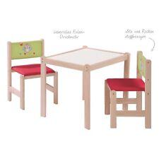 Roba Kids Kindersitzgruppe Eule bestehend aus Tisch und zwei Stühlen NEU