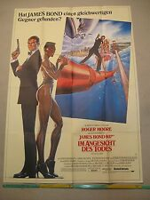 JAMES BOND 007 - IM ANGESICHT DES TODES Filmplakat Poster A0 ROGER MOORE View to