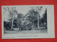 SAIGON Ho Chi Minh VIET NAM Vietnam COCHINCHINE Jardin French Colony