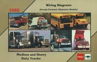 OEM Repair Maintenance Wiring Schematics Chevy Truck Medium/Heavy Duty 1988