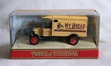 "MATCHBOX -MOY Y-21C 1926 Ford - TT Van ""My Bread"" (OVP)"
