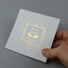 Golden Wedding Anniversary Leather Swatch For Card Making And Embellishing