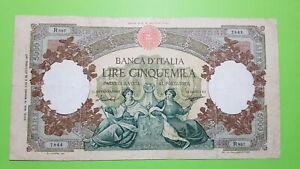 5000 LIRE REPUBBLICHE MARINARE  DECRETO  12/05/1960 OTTIMO BB/SPL