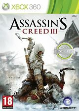 Assassin's Creed III 3 XBOX 360 Totalmente Nuevo Y Sellado