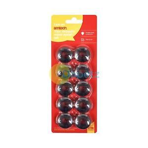 Amtech 10pc Plastic Self Sealing Eyelets Grommet Tarpaulin Groundsheet 11mm