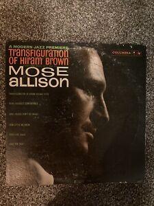 Mose Allison- Transfiguration Of Hiram Brown - Promo 1st Press Vinyl LP - EX/VG