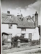 VINTAGE Photograph TICEHURST E Sussex Weatherboard Cottages 1960s Large Photo