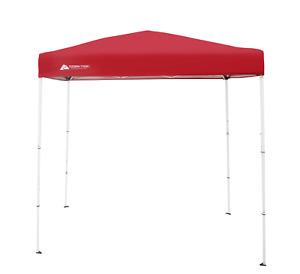 4'x6' EZ Pop Up Canopy Outdoor Slant Leg Wedding Party Tent Folding Gazebo