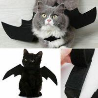 Pet Cat Dog Black Bat Wings Cosplay Costume Halloween Puppy Funny Clothing Decor
