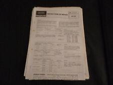 Original Service Manual Schaltplan Grundig RF 412