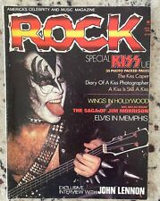 KISS ROCK magazine, November 1976 Rare