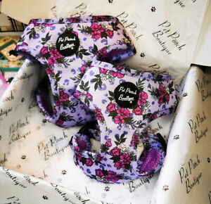 PURPLE PETALS Puppy/Dog Harness - Puppy or Dog NEW