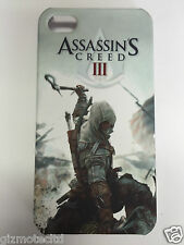 ASSASSINS CREED III 3 - PROMO APPLE iPHONE 4 4S MOBILE PHONE CASE COVER