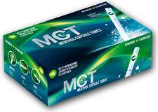 MCT Menthol Manchons 1000 Pièce de Filtre Cliquez Sur Arôme Tubes à Cigarettes