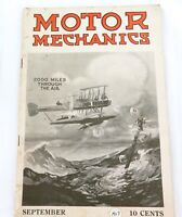 ".AMERICANA RARE SEPTEMBER 1917 ""MOTOR MECHANICS"" USA MAGAZINE"