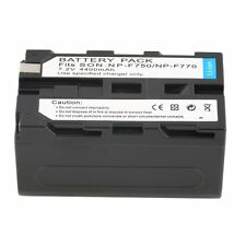 NEW 7.2V 4400MAH Replacement Li-Ion Battery for Sony NP-F750/770 /730 SL