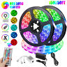 50FT RGB Color Changing Led Strip Light 450Leds Room Lights 5050 SMD Tape Remote