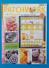 Patchwork Magazin 02/2018  28 Ideen Vorlagen in Originalgr. ungelesen 1A abs.TOP
