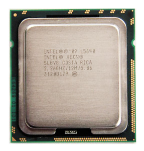 Intel Xeon L5640 2.26 GHz 6-Core 12MB SLBV8 LGA1366 CPU Processor