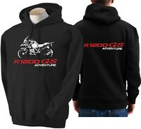 Felpa moto BMW r1200gs adventure hoodie sweatshirt bike R 1200 GS hoody sweater