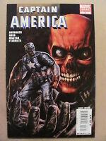 Captain America #45 Marvel Comics 2005 Series Red Skull Variant 9.6 Near Mint+
