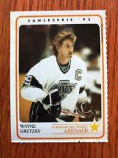 Wayne Gretzky Foreign Rare Ice Hockey card Norwegian issue 1993 LA Kings!