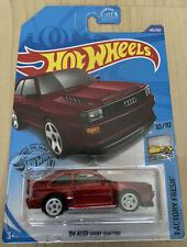 Hot Wheels Super Treasure Hunt '84 AUDI Sport Quattro HW STH - mint + protector